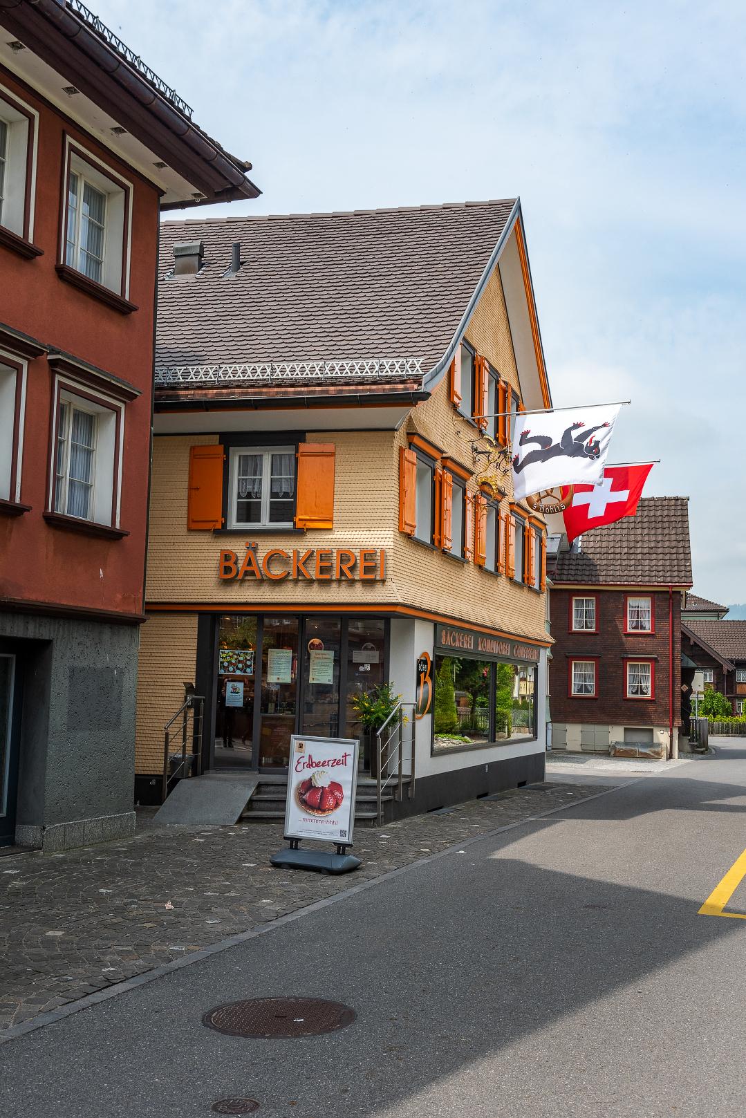 A bakery in Appenzell, Switzerland