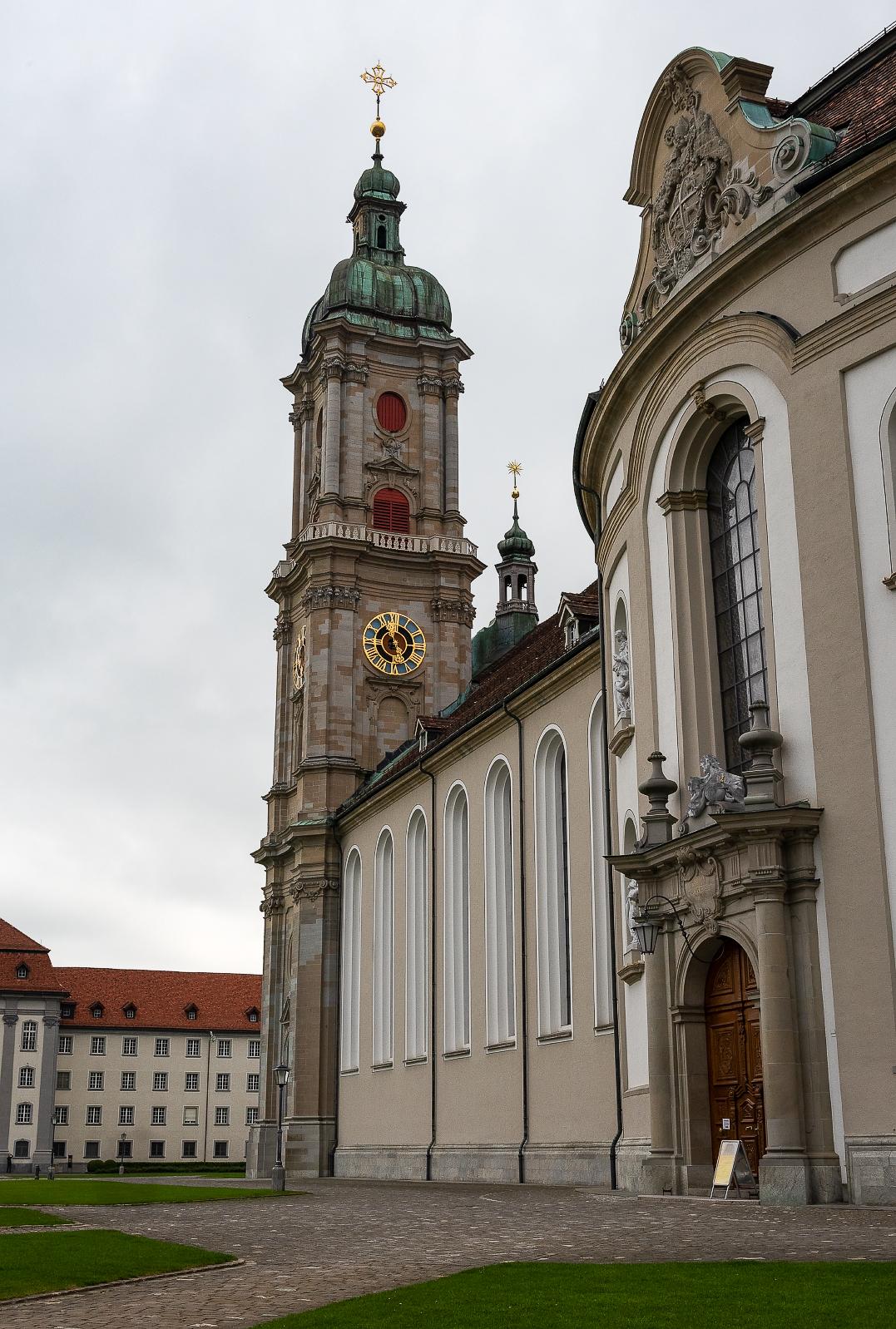 The Monastery of St Gallen in St. Gallen, Switzerland.