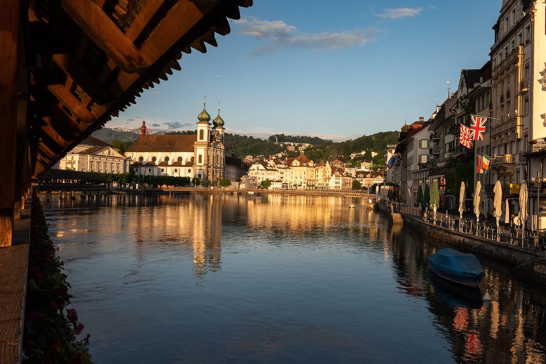 Reuss River and Aldstadt