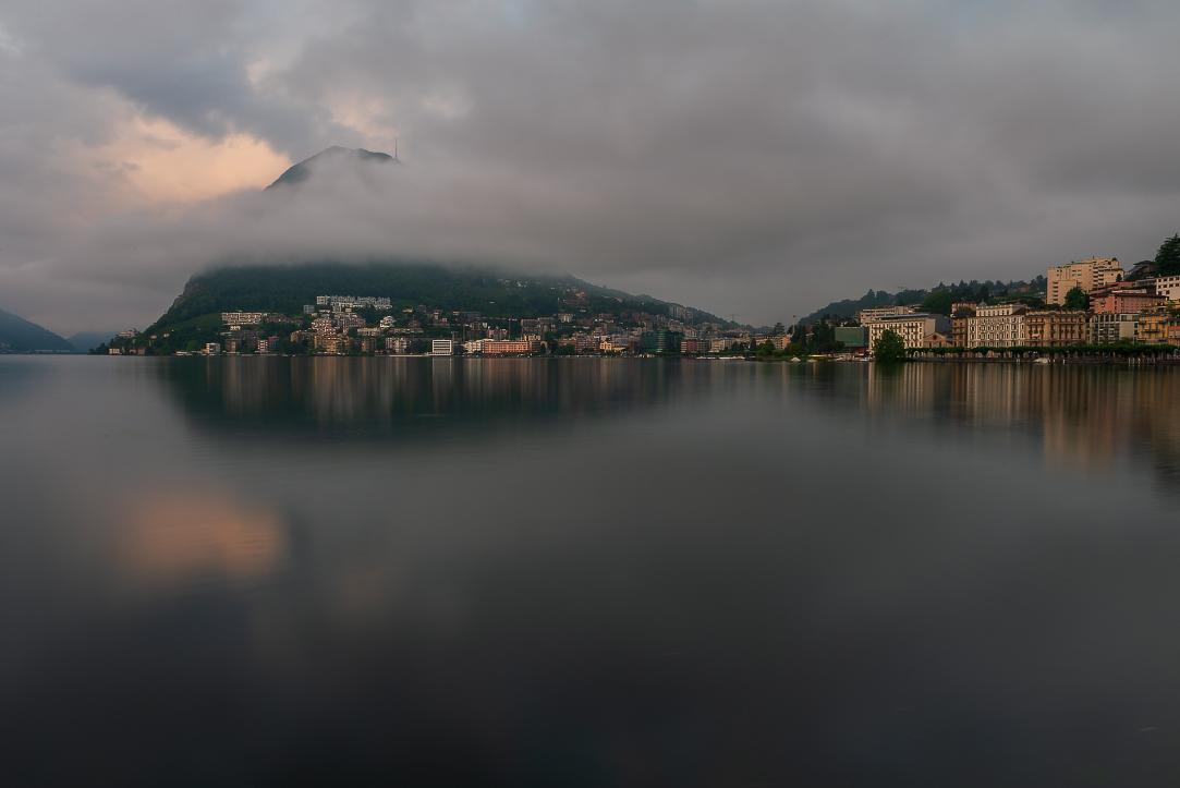Lugano and Monte San Salvatore