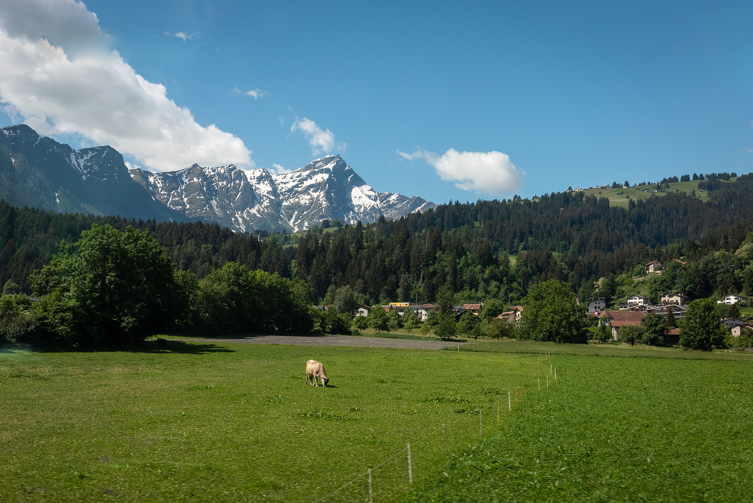 Sights on the Glacier Express